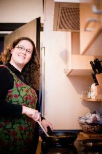 Stefanie Wagner beim Kochen - Die Selbermacherin